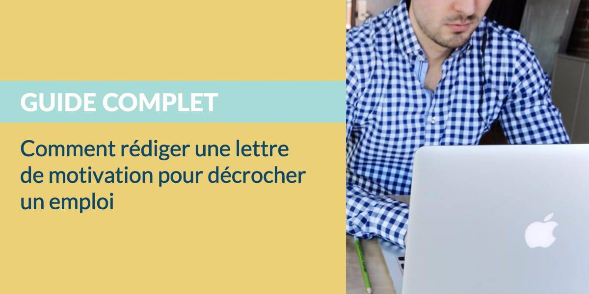 Rediger Une Lettre De Motivation En 2019 Modele Exemple