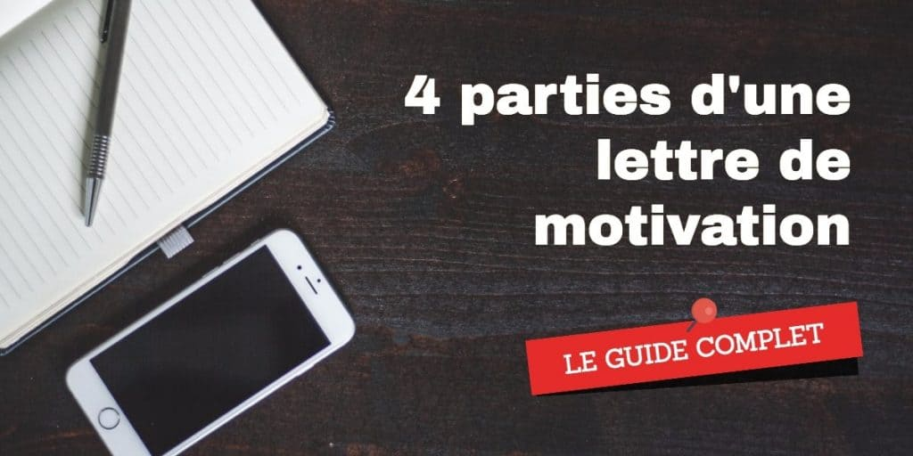 parties lettre de motivation