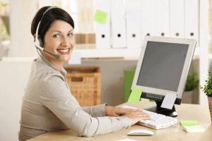 call center domicile