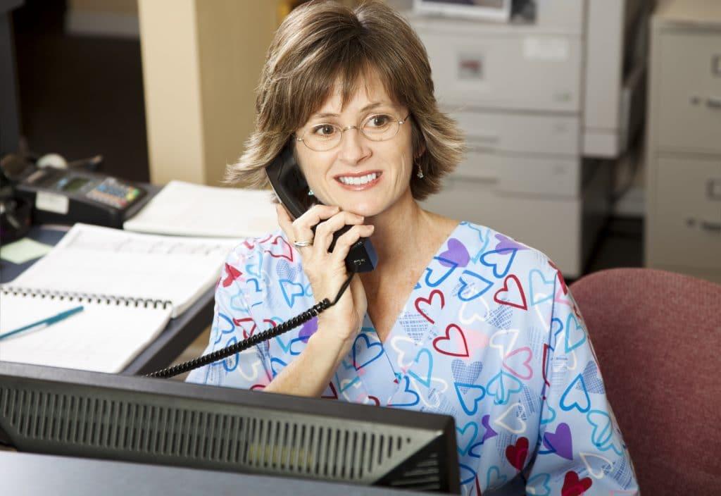 secrétaire médicale à domicile