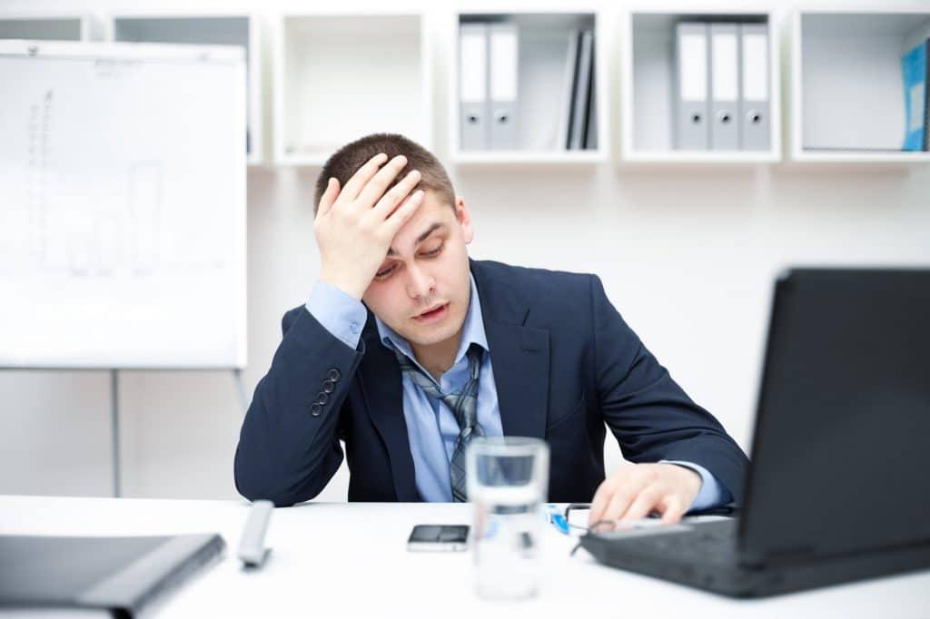 depression severe et arret de travail