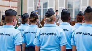 Parade de la gendarmerie nationale