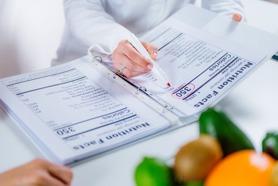 salaire dieteticien