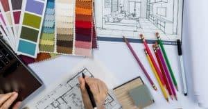 Réalisation de plans d'architecture d'interieur
