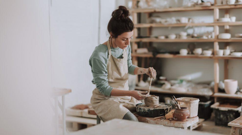 Réalisation d'une poterie