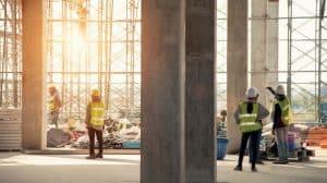 réunion de chantier de construction