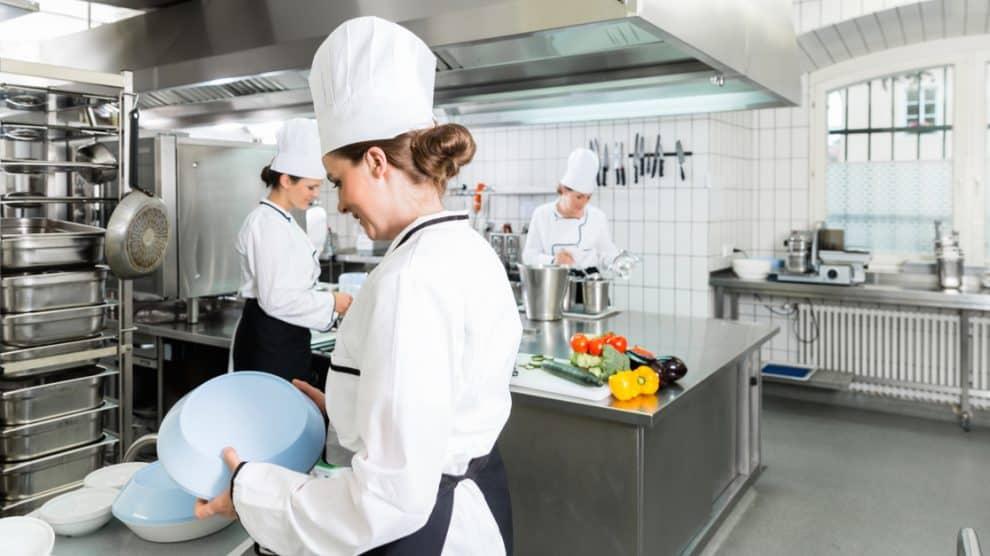 Travail en cuisine