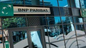 Agence bancaire BNP Paribas