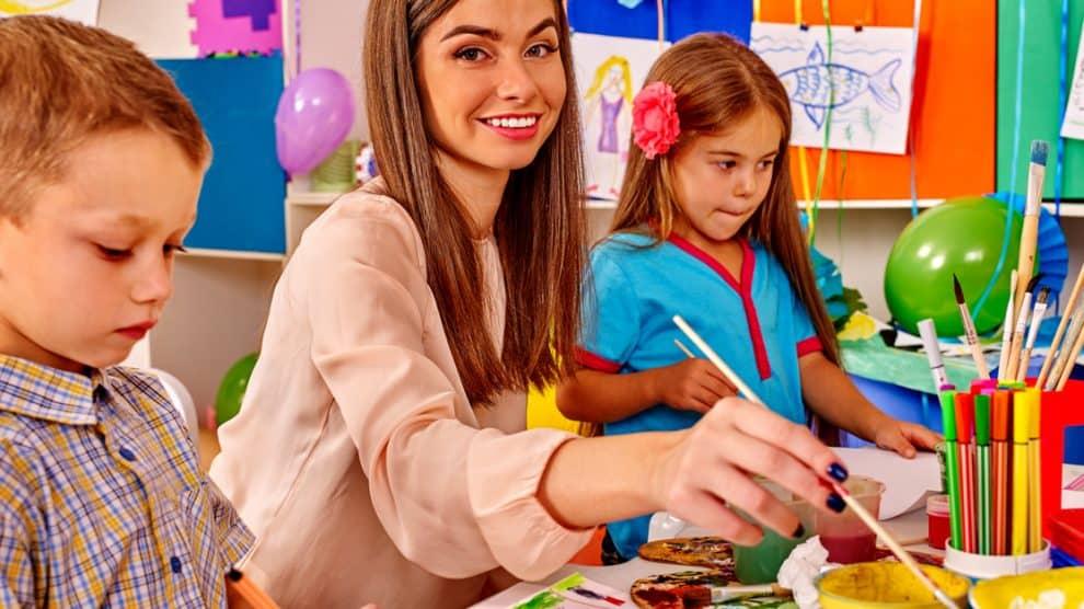 Activité avec les enfants