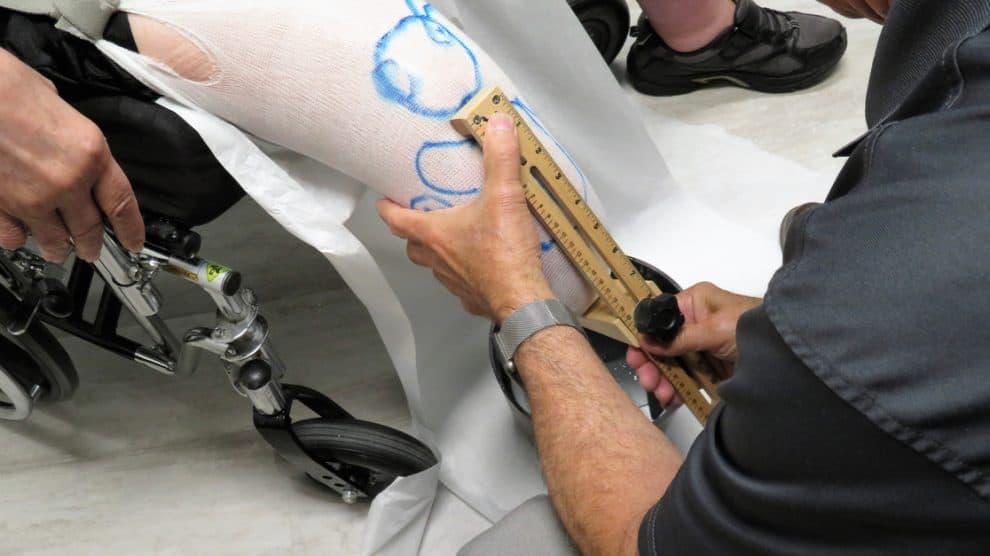 Création d'une prothèse