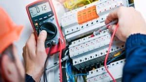 Réparation d'un compteur électrique
