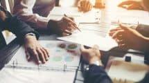 Travail de groupe en entreprise
